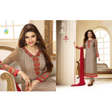 2764 BROWN COLOUR KASEESH PRACHI-9 SUIT PARTY WEAR SHALWAR KAMEEZ