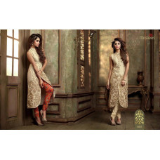 18002 GOLD MASKEEN ADDICTION BY MAISHA PARTY WEAR SUIT
