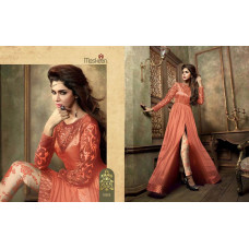 18005 ORANGE MASKEEN ADDICTION BY MAISHA PARTY WEAR SUIT