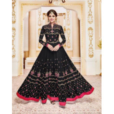 BLACK INDIAN PARTY AND WEDDING ANARKALI DRESS