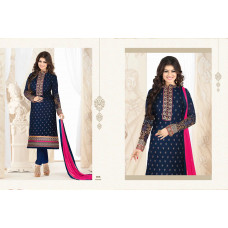 NAVY BLAZER BLUE DESIGNER INDIAN FASHIONABLE CHURIDAR SUIT