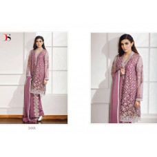51001 PINK BAROQUE PAKISTANI STYLE READY MADE SUIT