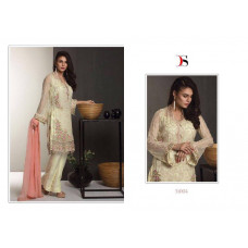Z51004 CREAM BAROQUE PAKISTANI DESIGNER STYLE READY MADE SUIT