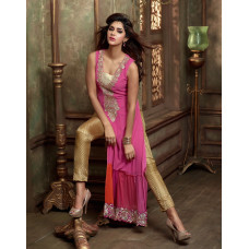 2405 PINK AND GOLD COLOUR LAVISH BY MAISHA PARTY WEAR SUIT
