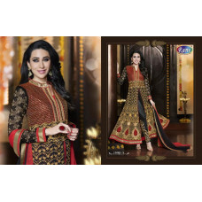 11001-A Rani Ethnic culture Wedding Wear Dress
