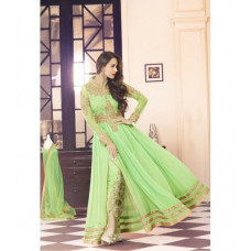 3702- MINT SHOWSTOPPER 3 MALAIKA ARORA KHAN WEDDING WEAR DRESS