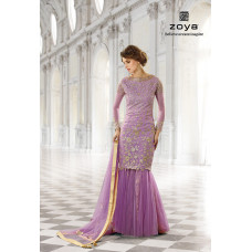12001-C LILAC ZOYA SHADES WEDDING WEAR DRESS