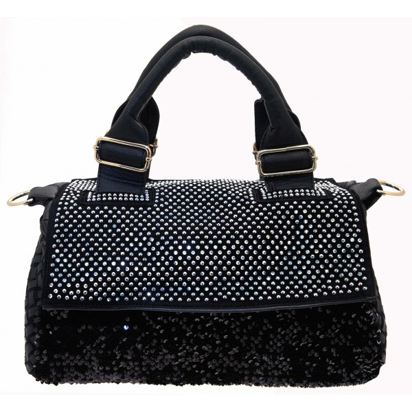 black-diamante-sequinned-soft-faux-leather-hand-bag -with-long-strap-sh1111197.jpg 814dc32629509